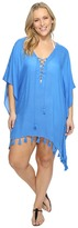 Becca by Rebecca Virtue Plus Size Wanderer Tunic Cover-Up