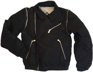 Pyrenex Black Leather Jacket for Women