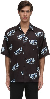 Ufu   Used Future Metal Digitally Printed Techno Shirt