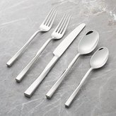 Crate & Barrel Twist 5-Piece Flatware Place Setting