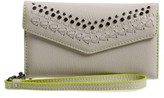 Rebecca Minkoff Women's Studded Leather Iphone 7 Wristlet - Grey