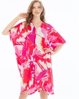 Soma Intimates Lucent Palms Caftan Duchesse Rose