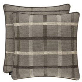 """J Queen New York J Queen Sutton Charcoal 18"""" Square Bedding"""