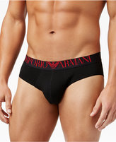Emporio Armani Men's Mirrored Logo Briefs