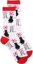 K. Bell Love Cats Crew Socks - Women's