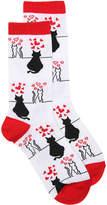 K. Bell Women's Love Cats Women's Crew Socks