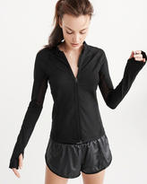 Abercrombie & Fitch Active Mesh Piece Full Zip