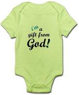 CafePress - I'm A Gift From God Boy's Infant Creeper - Cute Infant Bodysuit Baby Romper