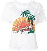 See by Chloe logo print T-shirt - women - Cotton - M