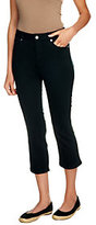 As Is Isaac Mizrahi Live! Regular Icon Grace Crop Jeans