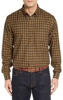 Cutter & Buck 'Cliff' Check Sport Shirt (Big & Tall)