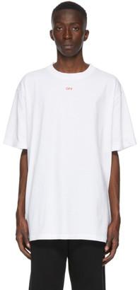 Off-White White Stencil Arrows T-Shirt