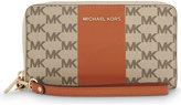 MICHAEL Michael Kors Centre stripe leather purse