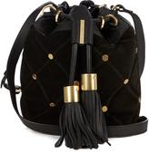 See by Chloe Vicki medium suede cross-body bucket bag