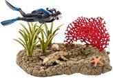 Schleich Coral reef diver