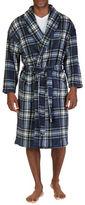 Nautica Shawl Collar Plaid Sleeping Robe