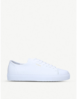 Axel Arigato Logo-embroidered leather trainers