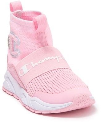 Champion Rally Pro Stretch Sock Sneaker (Toddler & Little Kid)
