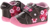 Stride Rite Crawl Adorable Alexa (Brown/Pink) Girl's Shoes