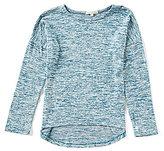 Copper Key Big Girls 7-16 Hi-Low Knit Top