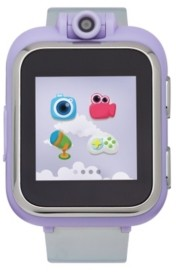 Itouch PlayZoom Kids Smartwatch with Holographic Lavender Strap