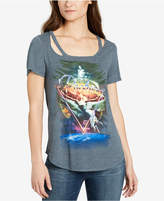William Rast Graphic Cutout T-Shirt