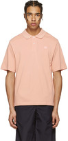 Acne Studios Pink Falco Face Polo