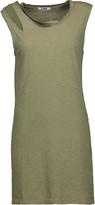 LnA Cutout cotton-jersey mini dress