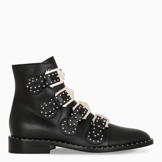 Givenchy Black Elegant Studs ankle boots