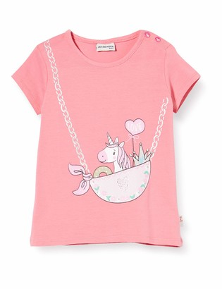 Salt&Pepper Salt & Pepper Baby Girls' Einhornmotiv Mit Steinen Und Glitzerdruck T-Shirt