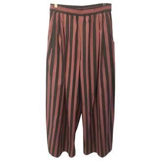 Tome Multicolour Cotton Trousers