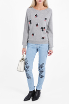 Paul & Joe Colleen Embroidered Flower Jumper