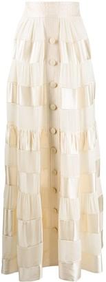 Zimmermann Long Tiered Skirt