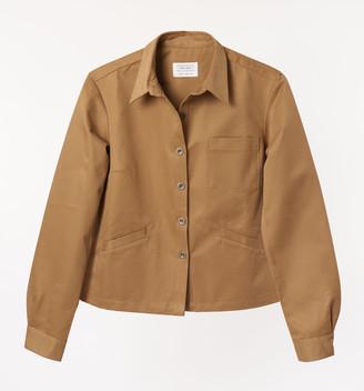 Freight HHG - Womens khaki Cotton Drill Jacket - cotton   khaki   extra small - Khaki