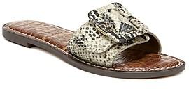 Sam Edelman Women's Granada Buckle Slide Sandals