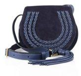 Chloé Marcie Small Suede Saddle Crossbody Bag