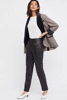 Just Female Studded Leather Pants by at Free People