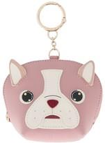 Furla dog wallet keyring