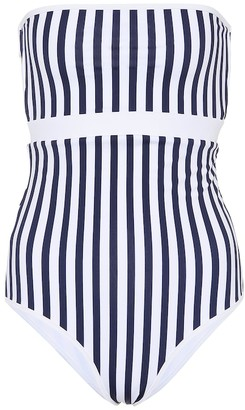 Heidi Klein BB striped bandeau swimsuit