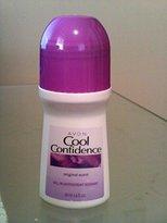 Avon Cool Confidence Original Scent Roll-on Anti-perspirant Deodorant Bonus Size 2.6 Fl. Oz.