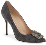 Manolo Blahnik Women's 'Hangisi' Jeweled Pump