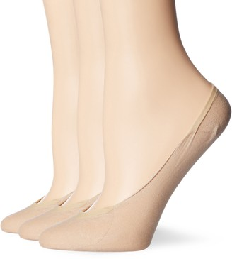 Dim Women's Invisifit Salvapies Bailarinas Ankle Socks