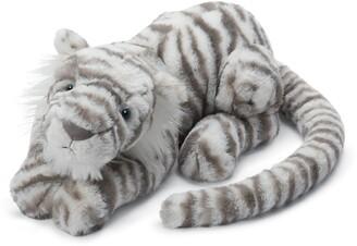 Jellycat Sacha Snow Tiger Stuffed Animal