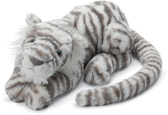 Jellycat Sacha Snow Tiger Stuffed Animal