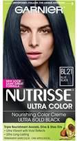 Garnier Nutrisse Ultra Color Nourishing Color Creme, BL21 Reflective Blue Black (Packaging May Vary)