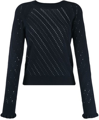 See by Chloe Pointelle-Knit Sweater