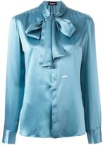 DSQUARED2 draped long sleeved shirt