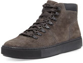 Vince Lancer Suede Hiker Boot, Grey