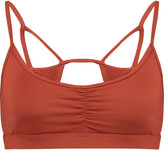 Koral Element stretch-jersey sports bra