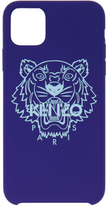 Kenzo Blue Tiger iPhone 11 Pro Max Case